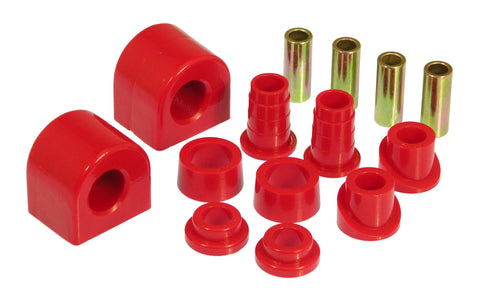 Prothane 88-96 Chevy Corvette Front Sway Bar Bushings - 24mm - Red