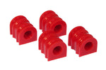 Prothane 10-11 Chevy Camaro Front/Rear Sway Bar Bushings - 28mm - Red