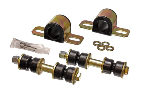 Energy Suspension 89-95 Isuzu Amigo/Rodeo Black 1-1/8in Front Sway Bar Bushings