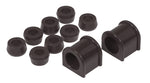 Prothane 87-96 Jeep YJ Front Sway Bar Bushings - 1 1/8in - Black