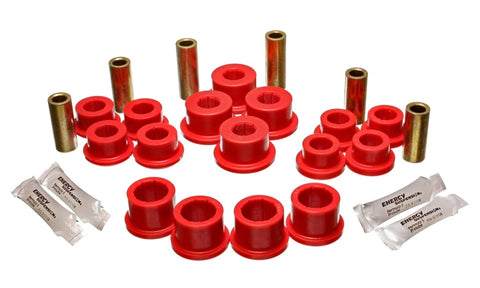 Energy Suspension 04-07 Mazda RX8 Red Rear Lateral/Trailing Arm Bushings