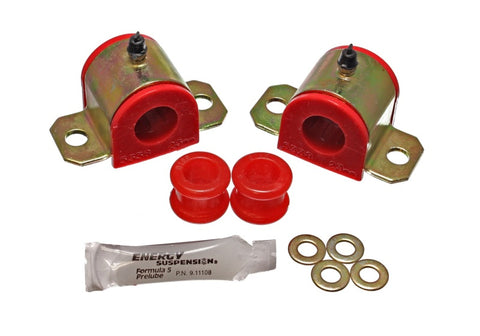 Energy Suspension 92-01 Honda Prelude Red 23mm Front Sway Bar Bushings (Sway Bar end link bushings a