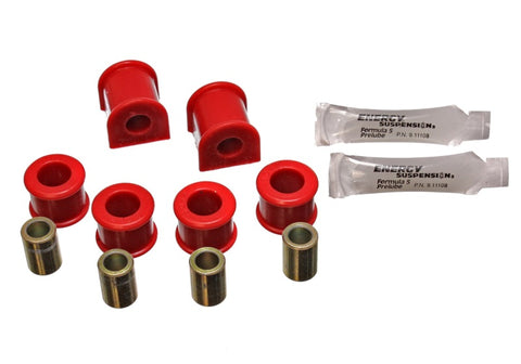 Energy Suspension 86-91 Mazda RX7 Red 14mm Rear Sway Bar Bushings