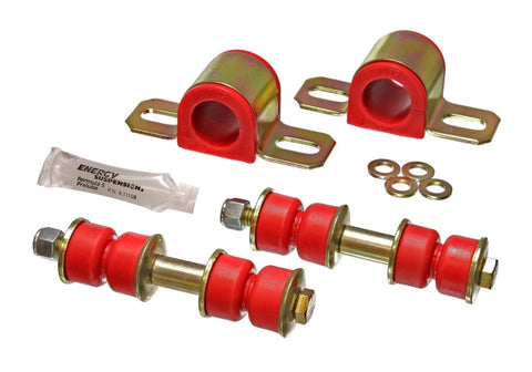 Energy Suspension 89-95 Isuzu Amigo/Rodeo Red 1-1/8in Front Sway Bar Bushings