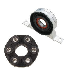 BT25 26127501257/26117511454 Driveshaft Center Support Bearing Flex Joint Disc Kit BMW 3 Series E46 E85