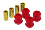 Prothane 88-91 Honda Civic Front Upper Control Arm Bushings - Red