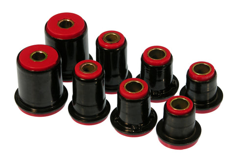 Prothane GM 1-3/8in OD Front Control Arm Bushings - Red