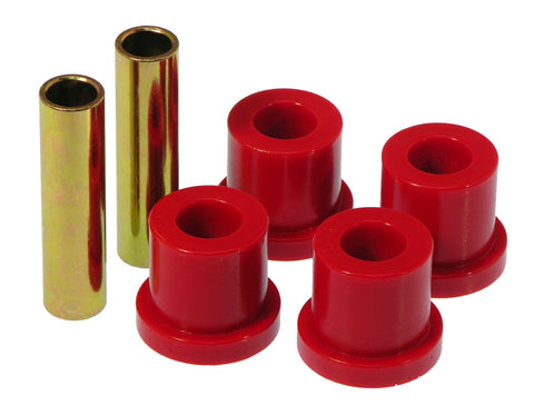 Prothane 81-87 GM Rear 1 3/8in OD Frame Shackle Bushings - Red