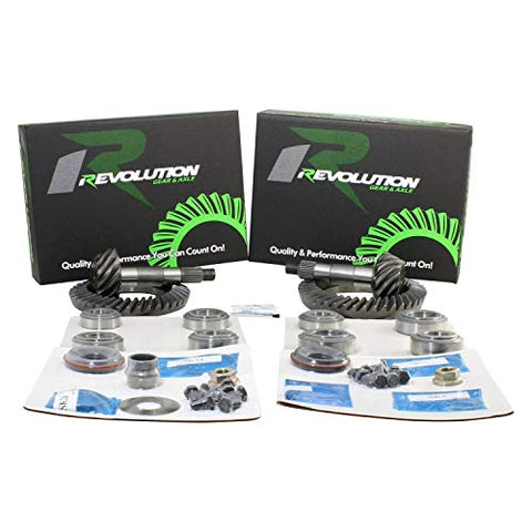 Revolution Gear & Axle Gear Packages Rev-XJ-D35/D30S-410