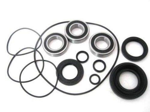 BossBearing LEFT Rear Axle and Brake Panel Bearings and Seals Kit for Honda TRX350TM Fourtrax Rancher 2000 to 2006