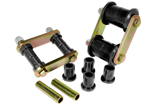 Prothane 70-83 AMC Spring & Shackle Bushings - Black