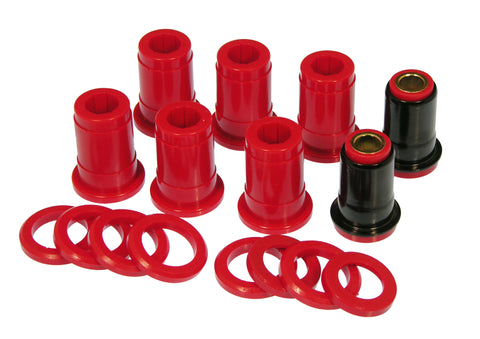 Prothane 59-64 GM Full Size Rear Upper Control Arm Bushings (for Two Uppers) - Red