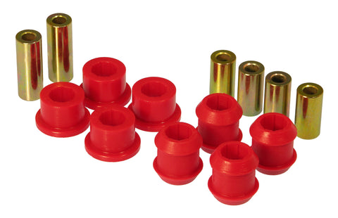 Prothane 88-91 Honda Civic Front Upper/Lower Control Arm Bushings - Red
