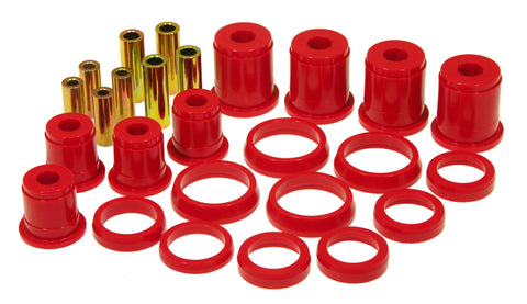 Prothane 93-98 Jeep Grand Cherokee Front Control Arm Bushings - Red