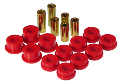 Prothane 90-93 Honda Accord Front Control Arm Bushings - Red