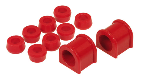 Prothane 87-96 Jeep YJ Front Sway Bar Bushings - 1 1/8in - Red