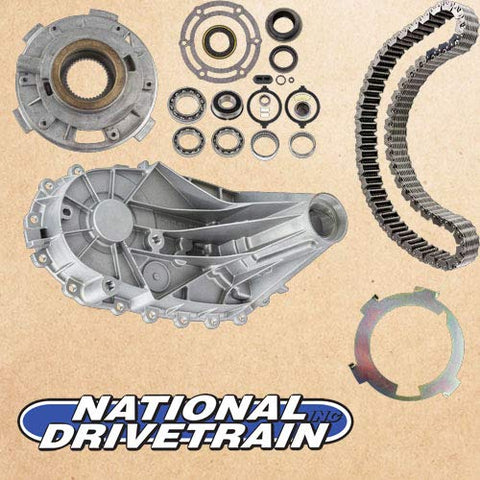 TRANSFER CASE REAR CASE HALF CHAIN BEARING & PUMP REBUILD KIT - NP246 NV246