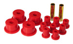 Prothane 70-83 AMC 2.0 OD Spring & Shackle Bushings - Red