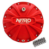 Nitro Gear NPCOVER-M20-RED-FSJK Fits AMC Model 20 Differential Covers Red X-treme Nitro Gear and Axle NPCOVER-M20-RED