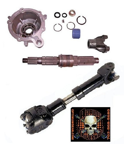 TJ SYE Kit and 1310 CV Driveshaft