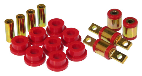 Prothane 90-00 Acura Integra Rear Upper/Lower Control Arm Bushings - Red