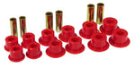 Prothane 99-14 Chevy Silverado 1500/2500 2/4wd Rear Spring Bushings - Red