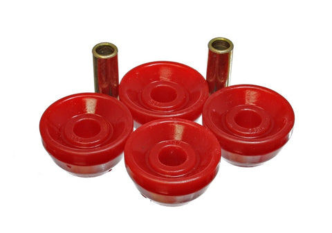 Energy Suspension 90-93 Acura Integra Red Front Sway Bar Bushings
