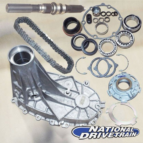 TRANSFER CASE REAR HALF CHAIN BEARING PUMP & SHAFT REBUILD KIT NV263XHD NP263XHD