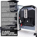 Yukon Gear & Axle YHCC-D44JL-FRONT Hardcore Nodular Iron Differential Cover