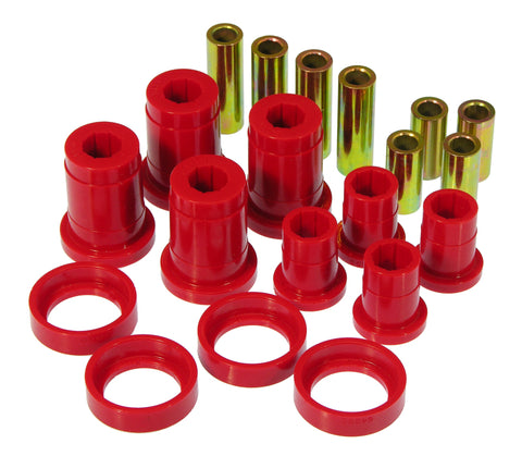 Prothane 84-88 Pontiac Fiero Front Control Arm Bushings - Red