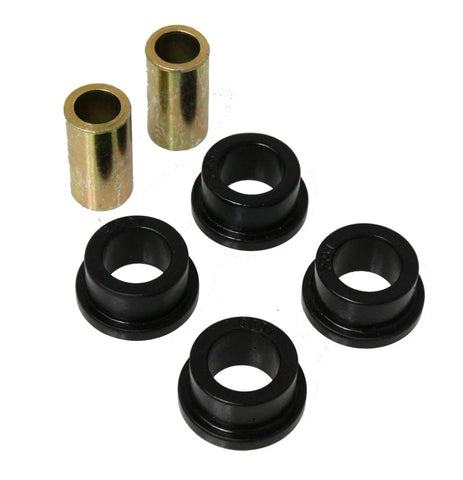 Energy Suspension Universal Link Flange Type Bushings Black 1.140 OD / .75 ID / 1/2in Bolt Diameter
