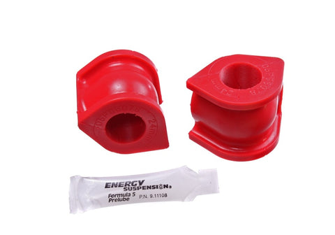 Energy Suspension 06-11 Honda Civic (Excl Si) 24mm Front Sway Bar Bushings - Red