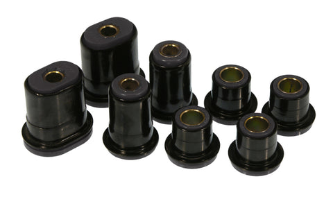 Prothane 66-72 GM Front Lower Oval Control Arm Bushings - Black