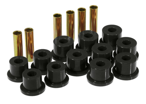 Prothane 73-87 GM Rear Spring & Shackle Bushings (w/ 1.75in Bushings) - Black