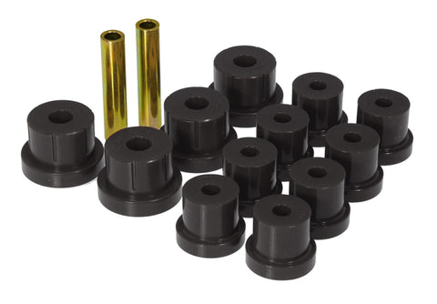 Prothane 67-69 Chevy Camaro Rear Multi-Leaf Bushings - Black