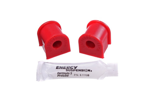 Energy Suspension 06-11 Honda Civic (Excl Si) 11mm Rear Sway Bar Bushings - Red