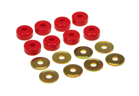 Prothane Universal End Link Bushings & Washers - 5/8 x 1 1/8 OD - Red