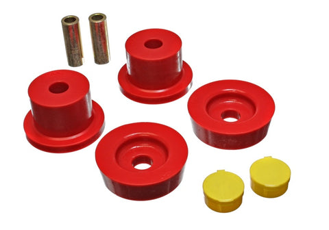 Energy Suspension 90-97 Mazda Miata Red Rear Differential Bushing Set