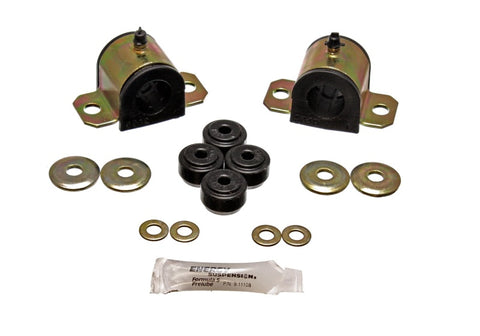 Energy Suspension 92-01 Honda Prelude Black 25mm Front Sway Bar Bushings (Sway Bar end link bushings