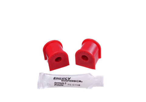 Energy Suspension 06-11 Honda Civic (Excl Si) 10mm Rear Sway Bar Bushings - Red