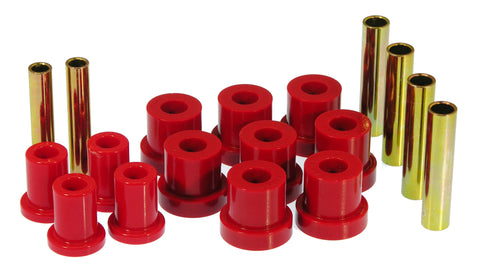 Prothane 88-91 Chevy Blazer/Suburban 4wd Front Spring Eye Bushings - Red