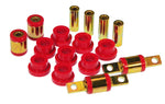 Prothane 88-95 Honda Civic Rear Upper/Lower Control Arm Bushings - Red