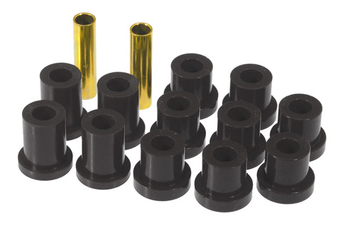 Prothane 56-57 Chevy Full Rear Spring Bushings - Black
