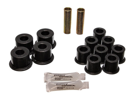 Energy Suspension Amigo Rear Spring Bushings - Black