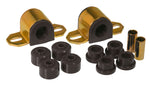 Prothane 84-99 Jeep Cherokee / Commander Front Sway Bar Bushings - 28mm - Black
