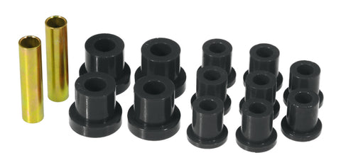 Prothane 54-62 Chevy Corvette Rear Leaf Spring Bushings - Black