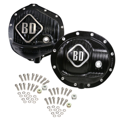 BD Diesel Differential Cover Pack Front & Rear - 14-18 Ram 2500/3500 w/o Rear Coil Springs