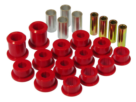 Prothane 84-96 Chevy Corvette Front Control Arm Bushings - Red
