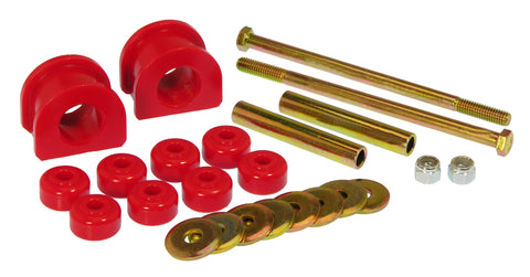 Prothane 82-00 GM S-Series 2wd Front Sway Bar Bushings - 1in - Red