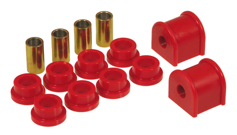 Prothane 97-03 Jeep TJ Rear Sway Bar Bushings - 9/16in - Red